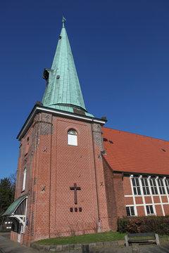 Pfarrkirche St. Johannis in Hamburg Eppendorf