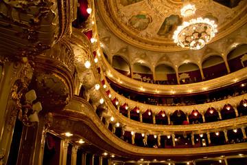 Interior of Opera house in Odassa, Ukraine Fototapete