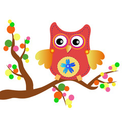 little sweet owl message