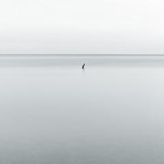 Sea landscape, minimalism