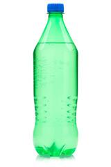 Lime soda bottle