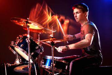 Poster Vlam drummer