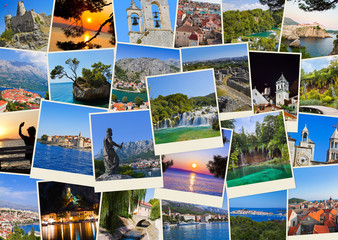 Stack of Croatia travel photos