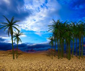 Fantasy desert