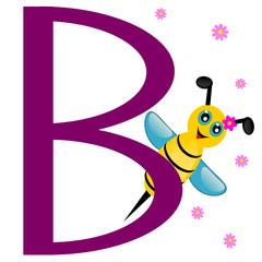 Animal alphabet B