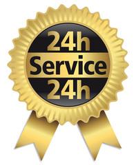 24h - Service - Qualitätssiegel