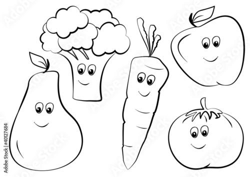 Najlepszy Wybor Kosz Z Owocami Kolorowanka Najlepsze