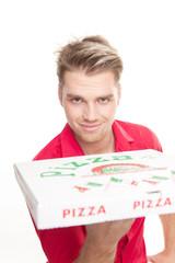 pizza für sie