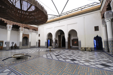 Medersa Ben Youssef Koran school, Marrakesh