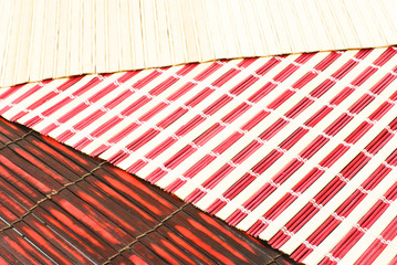 colored bamboo napkin