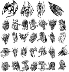 Dragon silhouettes vol 2