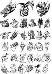 Dragon silhouettes vol 3