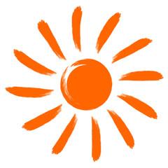 Icon vector sun