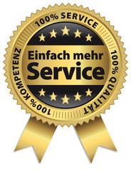 Einfach mehr Service - Qualität - Kometenz - 100%