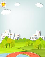 city paper landscape