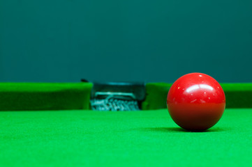 red ball in Snooker games