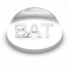 3D Style file format icon - BAT