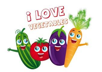 vegetables cartoons