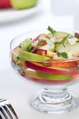 Blue Cheese Pecan Apple Salad