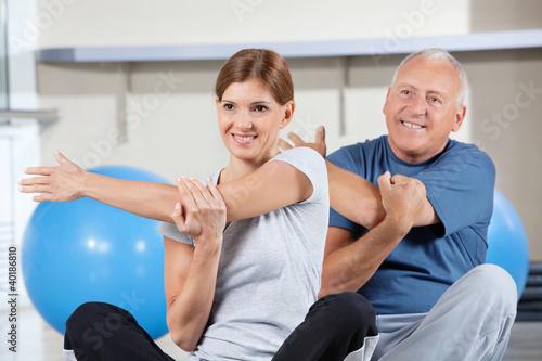 Физ упражнения для похудения для больнх остеохондрозом