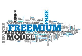 """Word Cloud """"Freemium"""""""