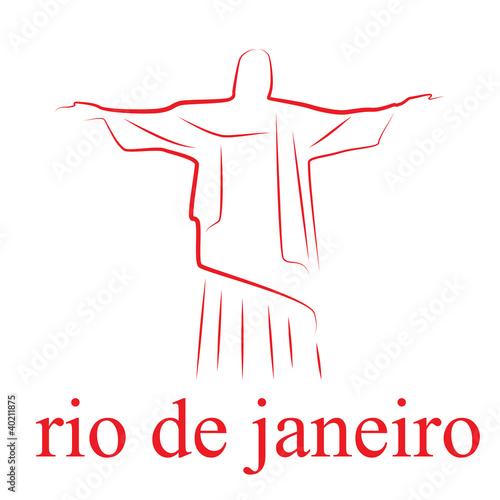 "drawing logo rio de janeiro # vector"" stock image and royalty-free"