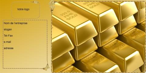 carte gold professionnelle