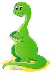 Keuken foto achterwand Dinosaurs Dinosaur theme image 2