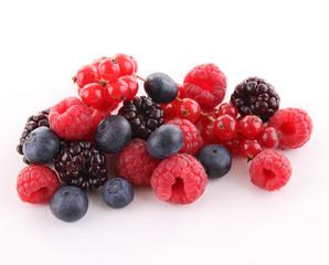 isolated berries