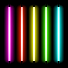 Neon tube light