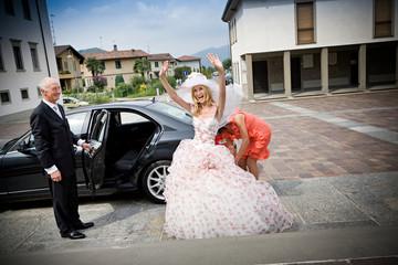 macchina sposa