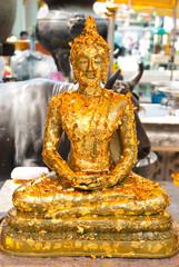 Gilded Buddha image