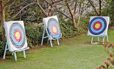 archery target range