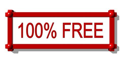 Panneau 100% FREE 1.01