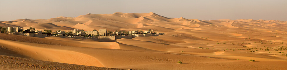 Printed kitchen splashbacks Middle East Abu Dhabi's desert dunes