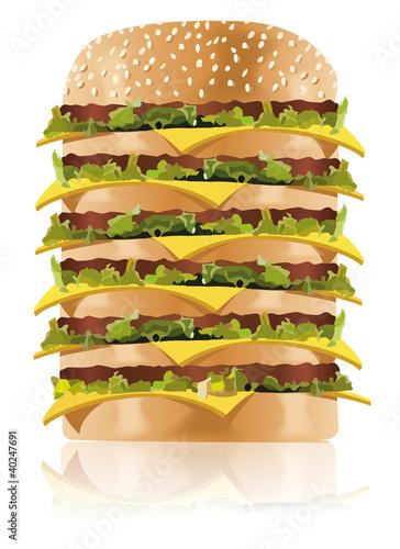 schnellimbiss fastfood xxl hamburger burger 1 stockfotos und lizenzfreie vektoren auf. Black Bedroom Furniture Sets. Home Design Ideas