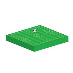 Soccer 3D-Vektor-Symbol