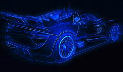 Modern Racing Car