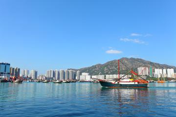 Fishing boat in Hong Kong, Tuen Mun