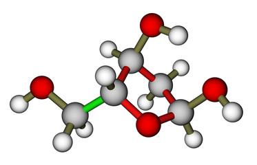 Deoxyribose, a precursor to DNA