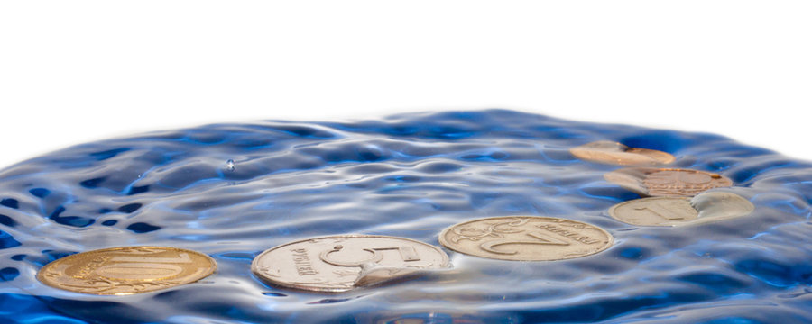 Coins and Water