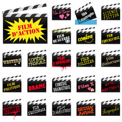 Clap Cinema_genres de films