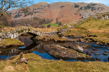 Slaters Bridge in Little Langdale