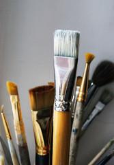 Used brushes