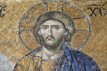 Christ, The Deesis Mosaic