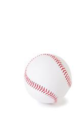 Baseball ball, isolated over white background