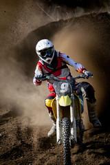 Fototapete - motocross 3