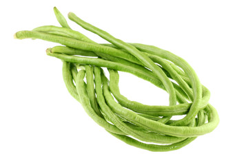 A bunch of fresh cowpea (Chinese yardlong bean)