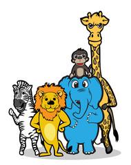 wild animal team