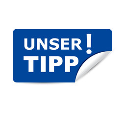 Sticker: UNSER TIPP!